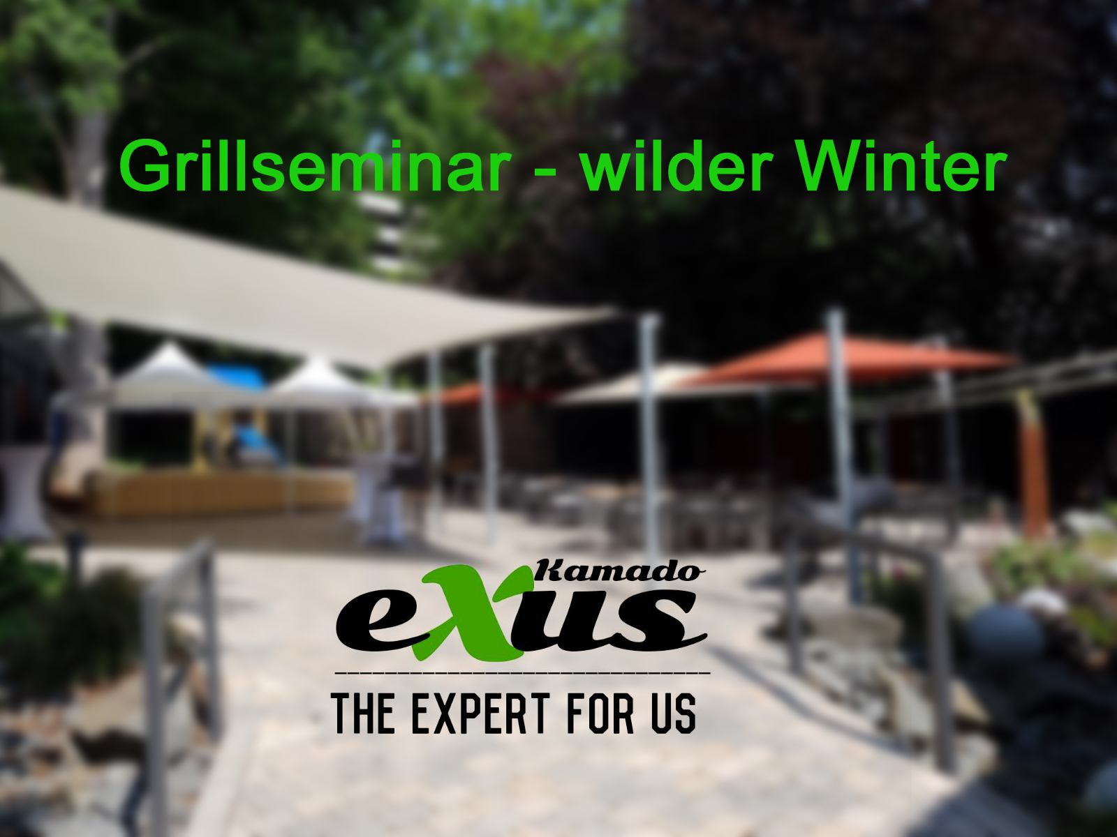 Grillseminar - wilder Winter